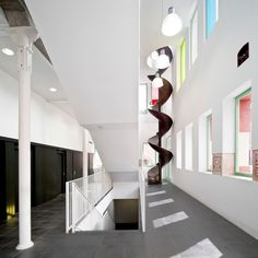 La Farinera, Old Flour Mill created in 1896 by Enric Sagnier, converted into Municipal Drawing & Painting School in VIc, Spain by Garces - De Seta - Bonet Arquitectes