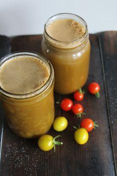 Savoury Tomato Basil Juice