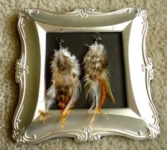 These are my favorite feather earrings!!!! Simple and chic!