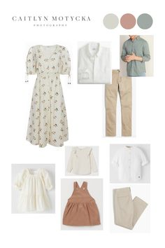 Family Photography Outfits, Family Portrait Outfits, Fall Family Photo Outfits, Family Portrait Poses, Clothing Photography, Portraits, Neutral Family Photos, Spring Family Pictures, Family Photo Colors