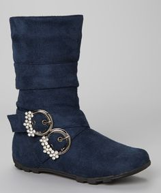 Take a look at this Blue Bella 2 Boot by Diamond Footwear on #zulily today!