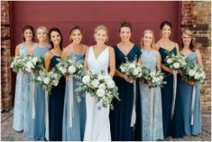 Take a look at this water-inspired NP Event Space and Luminary Fern wedding the Brainerd Lakes Area of Minnesota. Full of industrial vibes! Mix Match Bridesmaids, Different Bridesmaid Dresses, Azazie Bridesmaid Dresses, Blue Bridesmaids, Wedding Bridesmaids, Tiffany Blue Bridesmaid Dresses, Bridesmaid Dress Colors, Fairy Wedding Dress, How To Dress For A Wedding