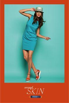 Second Skin #orange sandals