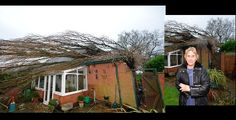 Grandma escapes death as massive tree smashes her house #RagnarokConnection