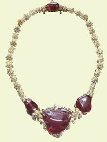 The Timur Ruby - Queen Victoria's Great Jewel! queen elizabeth, royal families, crown jewels, queen victoria, british royals, the queen, necklac, india, royal jewels