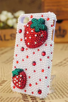 Cute Strawberry Phone Case