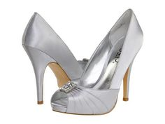 Silver Wedding Shoes for Women