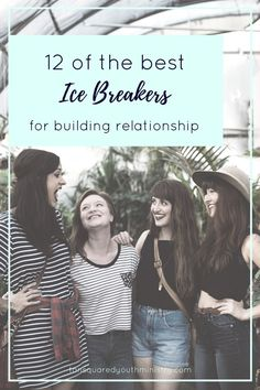 Need some new ice breaker ideas? Here's our favourites! We love these both for breaking the ice and getting to know your crew on a whole new level. Tansquared Youth Ministry