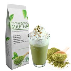Starter Matcha Green Tea Powder (16oz) - Organic, Culinary Grade. Special Amazon Price: Only $16.99/lb + FREE Shipping for Prime members.