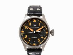 IWC Big Pilot Titanium, Schweiz, um 2008 IWC Big Pilot Titanium One Of Fifty Schweiz, um 2008Automat
