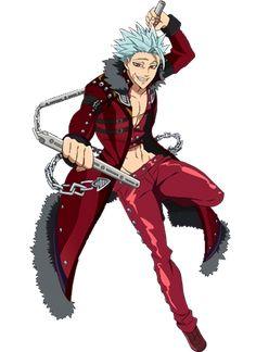 Ban - Curte The Seven Deadly Sins? Descubra todos os personagens no Global Geek! Seven Deadly Sins Anime, Tatouage Seven Deadly Sins, Seven Deadly Sins Tattoo, 7 Deadly Sins, Anime Angel, Hot Anime Boy, Anime Guys, Cool Animes, Ban Anime