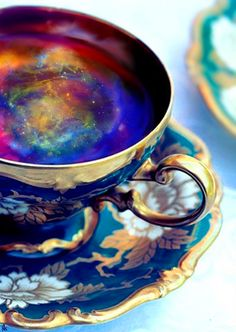 reading the tea leaves  cosmic berry blend