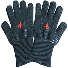 Revolutionary Extreme Heat Resistant Certified Gloves - Thick but Light-Weight & Flexible, 2 Gloves Best Smoker, Best Gloves, Heat Resistant Gloves, Extreme Heat, Grill Barbecue, Women, Smokers