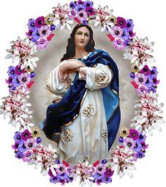 IMAGENES RELIGIOSAS: INMACULADA CONCEPCION DE MARIA