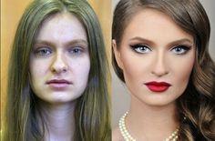 Obwohl wir vom SF Globe der Meinung sind, dass alle Frauen mit genügend Selbstvertrauen wunderschön sind, müssen wir zugeben, dass einige Make-up-Artisten echte Künstler sind. Seht euch diese Vorher-Nachher-Bilder von Vadim Andreev an!
