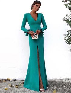 Classy fall date night fashion outfits ideas to copy right now 16 Glamorous Dresses, Elegant Dresses, Beautiful Dresses, Bridesmaid Dresses, Prom Dresses, Formal Dresses, Wedding Dresses, Wedding Hijab, Dress Prom