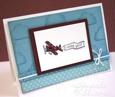 Faux dry embossing, Stampin' Up!, Cupcake Punch, Teneale Williams,  Ain't  Love Grand