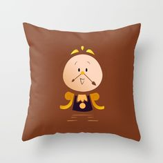 Buy Baby Cogsworth Throw Pillow by happy patterns. Worldwide shipping available at Society6.com. Just one of millions of high quality products available.