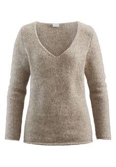 Best Damen Strickjacke aus Alpaka mit Leinen Alpaka Kapsel Kleiderschrank und Baumwolle