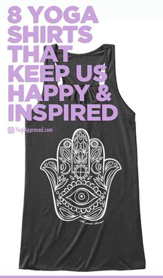 8 Yoga Tanks That Keep Us Happy and Inspired