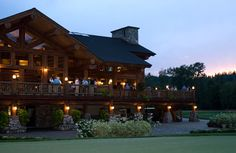 I kinda like my cabin to look like the Idaho Club clubhouse... like this http://www.sandpointresortrealty.com/