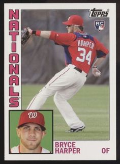7d63321c2 2012 Topps Archives  241 Bryce Harper RC Rookie SSP