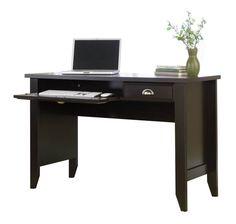 Good Jamocha Computer Desk Jamocha Wood By Sauder   1 800 460 0858