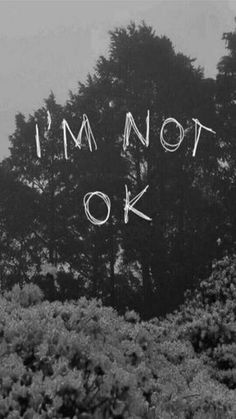 My Chemical Romance-im not okay (i promise)! Emo Wallpaper, Iphone Wallpaper, Im Not Okay, My Chemical Romance, How I Feel, Phone Backgrounds, In My Feelings, Sad Quotes, Depressing Quotes