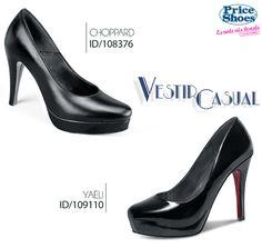 Dos clásicos en color negro. #priceshoes #iLovePS #style #zapatillas #tacones #pump #chic #fashion #fashionable #fashionista #happy #must #sexy #shoes #black
