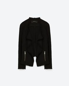 Image 8 of FRAYED BLAZER from Zara