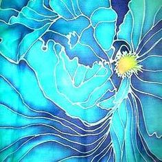 Paintings On Silk | Silk Painting ~ Imagination Painting                                                                                                                                                                                 Más