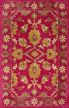 nuLOOM SPRE8B-8010 Venice Collection 100-Percent Wool Area Rug, 8-Feet by 10-Feet, Overdyed, Fuschia, http://www.amazon.com/dp/B00AW0YO0K/ref=cm_sw_r_pi_awdm_XBRiwb074GZ63
