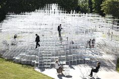 Japanese architect Sou Fujimoto's 'Serpentine Gallery Pavilion 2013'