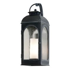 Troy Lighting B3281 Derby 60W Small 1 Light Outdoor Wall Mount in Antique Iron
