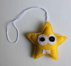 felt star Christmas ornament Party Favor Key par EndlessFeltMagic