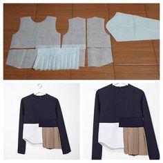 Designer Blouse Patterns, Blouse Designs, Fashion Sewing, Diy Fashion, Fashion Fail, Top Pattern, Pattern Design, Clothing Patterns, Sewing Patterns