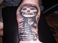 12 Groovy Ghost Tattoo Styles - http://www.dailywomanmag.com/decor-ideas/12-groovy-ghost-tattoo-styles.html