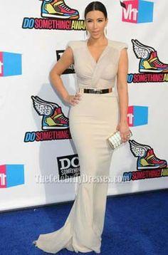 Kim Kardashian Prom Gown Evening Dress VH1 Do Something Awards - TheCelebrityDresses