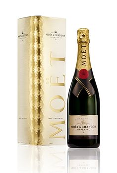 Moët & Chandon champagne festive limited edition for Christmas and New year's eve