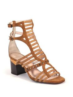 LANVIN Strappy Heeled Suede Sandal discount 100% guaranteed official site lowest price cheap online AlTyD