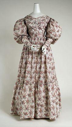 Dress Date: ca. 1830 Culture: British Medium: cotton Accession Number: 2006.408