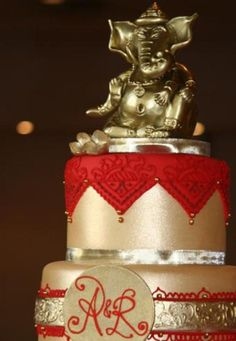 Ganesh! By White Flower Cake Shoppe--I would PAY a customer to let me make this!