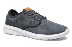 Deportivas Vans Iso 2 Azul -- Love the grey blue with the point of camel!
