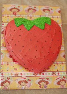 strawberry shaped cake - Google Search