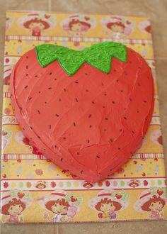 strawberry shaped cake - Google Search