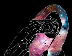 Photographer with hijab Tumblr Outline, Outline Art, Crown Illustration, Couple Illustration, Girly Dp, Hijab Drawing, Anime Muslim, Hijab Cartoon, Cute Girl Drawing