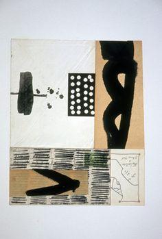 Dennis Parlante - 7 Avril 1960 - collage on paper - 10.5 x 8.75 inches http://dennisparlante.com/