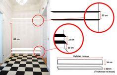 Vår hallinredning! - Vanja Wikström - Metro Mode Home Decor, Closet, Ideas, Architecture, Decoration Home, Armoire, Room Decor, Cupboard, Closets