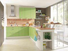 Hoewel de naam anders doet vermoeden, is keuken Pino groen - foto: Keukenspecialist