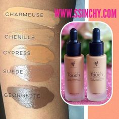 Younique liquid foundation gets even darker- meet the new 3 colours !! Chenille, Suede, Georgette  These colours also available as a powder and cream foundation & concealer   www.ssinchy.com